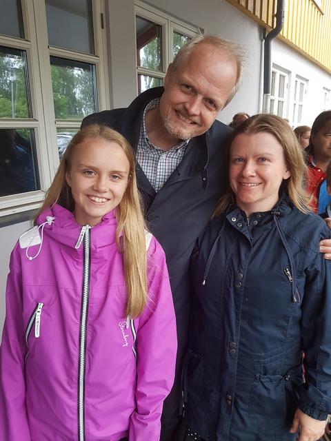 7. klasse avslutning på Nordby skole