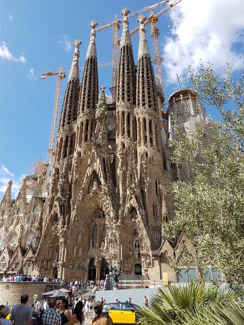 Spania del 2: Et imponerende byggverk som skal være ferdig om 9 år.