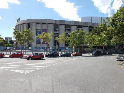 Spania del 2: Europas største fotball stadion Nou Camp.