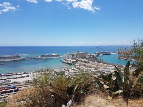 Spania del 2: Cruice-skipene ligger på rekke og rad