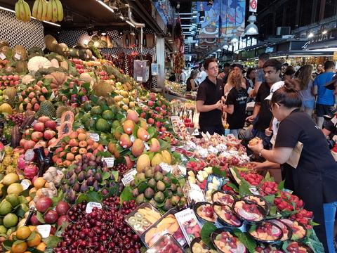 Spania del 2: Fryd for øye å besøke markedet