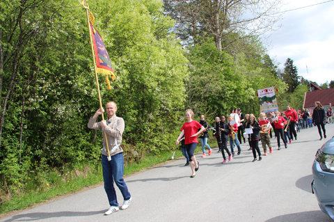 Bilder fra Barnehagetoget på Kjærnes