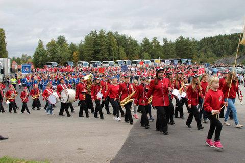 Norges største korpsstevne med Norges beste dugnadsgjeng