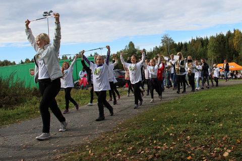 Ut på tur til Nordby idrettsplass