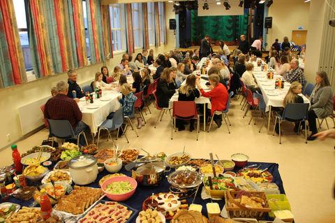Heder, ære og masse god mat på Årsfesten