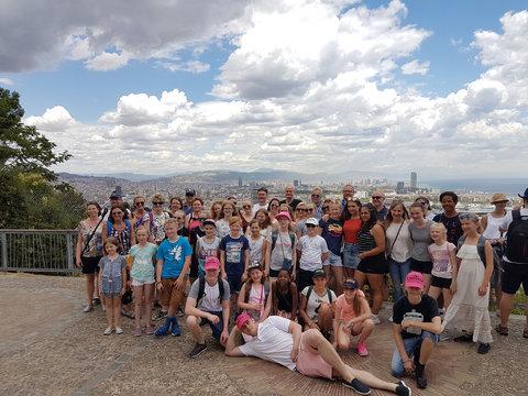Tusen takk for et flott korpsår!: Flott gjeng på sommertur til Spania