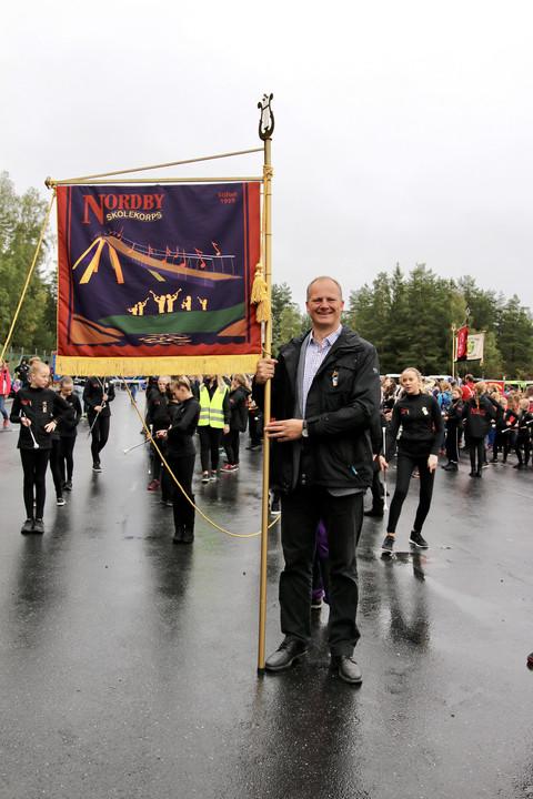 Tusen takk for et flott korpsår!: Gjestedirigent samferdselsminister Ketil Solvik-Olsen