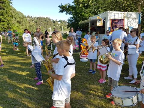 Sommerfest på Breivoll og Korps på tur
