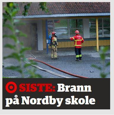 Brann på Nordby Skole (Les mer)