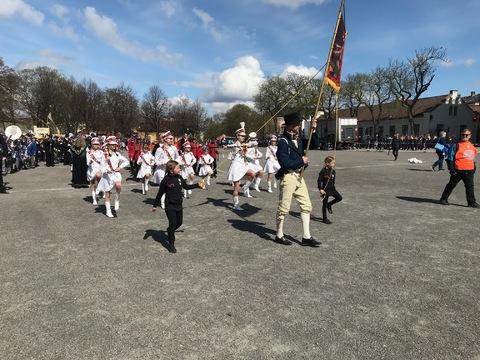 Flott og vellykket Jubileumsparade i Oslo: Og så ble det vår tur....