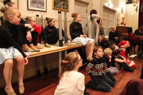 Hyggelig juleavslutning på Liahøy: Imponert av BÅB