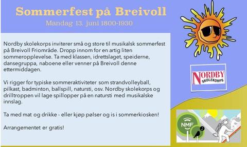 Velkommen til Breivoll 13. juni