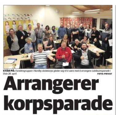 Ås avis hadde en flott artikkel om oss: Fra Ås avis 6.3