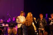 Flere bilder fra Kjendiskonserten