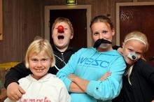 Bilder fra Slora-seminaret 2010: Vinnerne i konkurransen: Ingrid, Benjamin, Tonje og Synne.